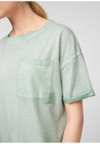 Q/S designed by - Basic T-shirt - mint - 5