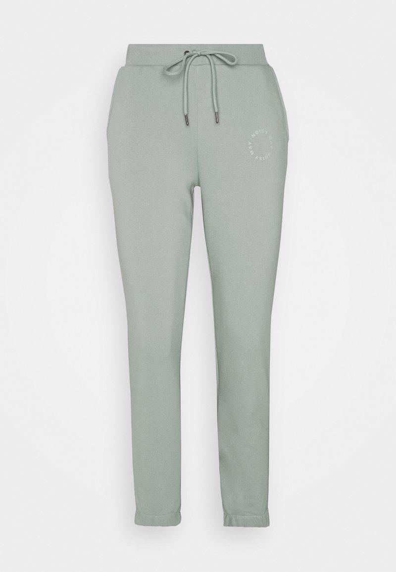 Noisy May Petite - Tracksuit bottoms - slate gray