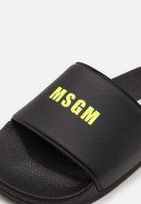 MSGM - UNISEX - Pantolette flach - black - 5