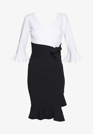 EMMIE - Koktejlové šaty/ šaty na párty - black/white