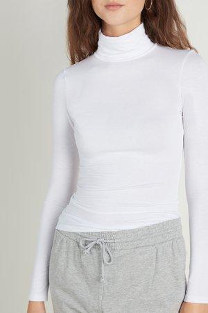 LONG SLEEVE - Long sleeved top - bianco