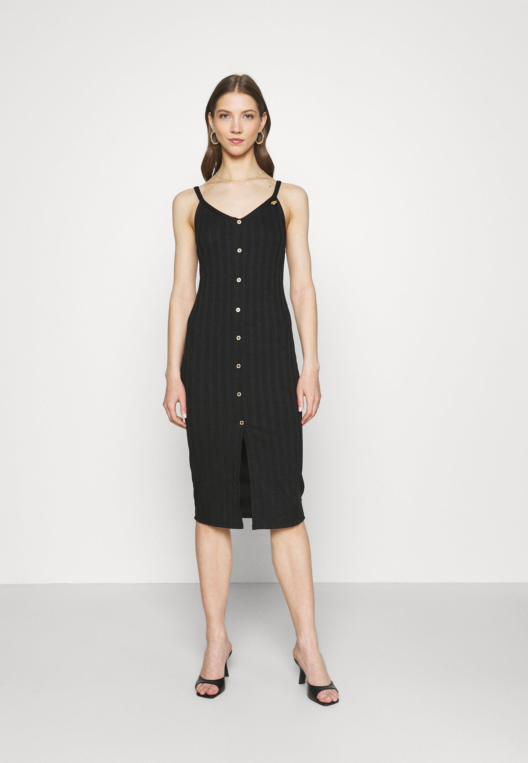 Women DECAL BUTTON MIDI - Day dress