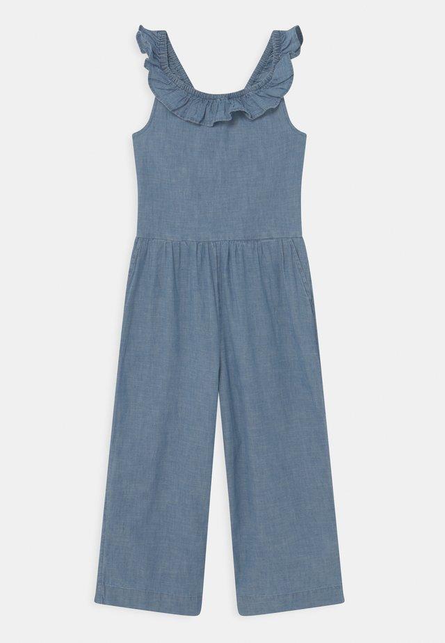 GIRL - Tuta jumpsuit - chambray