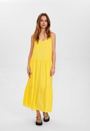 Długa sukienka - snapdragon