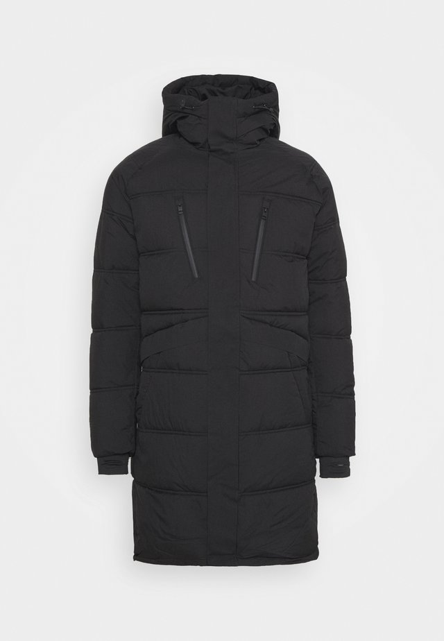 JCOQUARRY LONG PUFFER - Winter coat - black