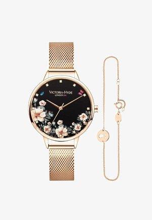 PARK FLOWER SET - Horloge - rosagold