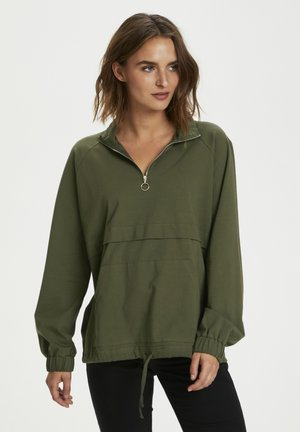 Sweatshirt - grape leaf