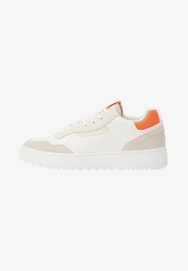 CARLO 3D - Sneakers laag - white/orange