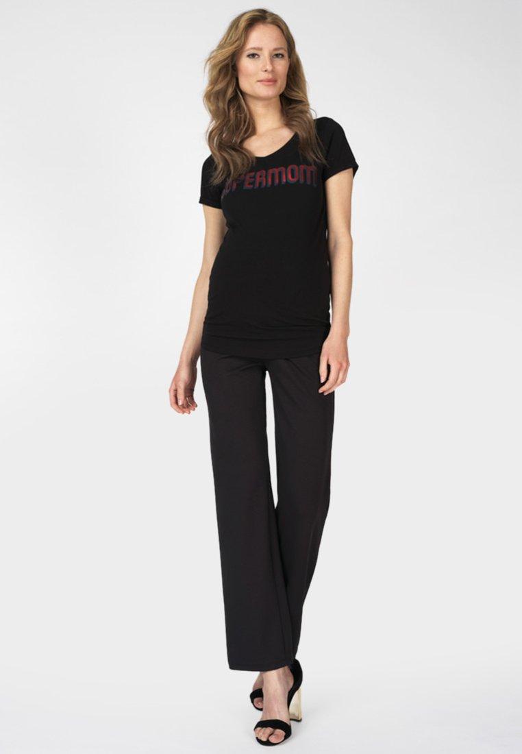 Supermom - Trousers - black