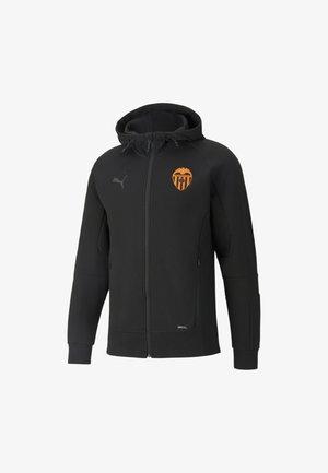 VALENCIA CF CASUALS FOOTBALL HOMBRE - Training jacket - puma black-asphalt