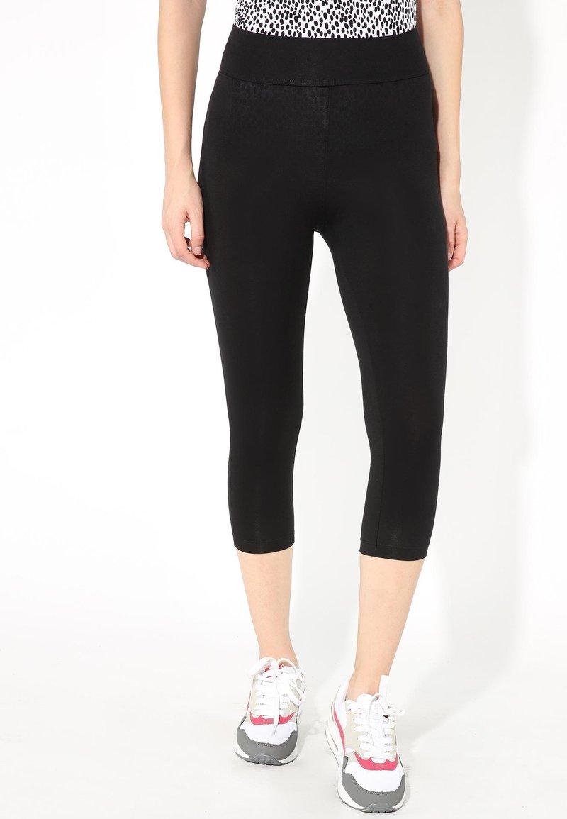 Tezenis - CAPRI - Leggings - Trousers - nero