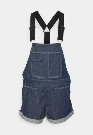 UTILITY BOYFRIEND SHORT OVERALL - Jumpsuit - raw denim