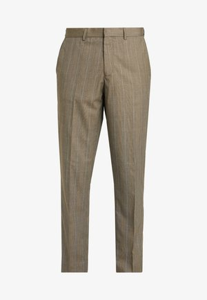 POW CHECK - Pantaloni - brown