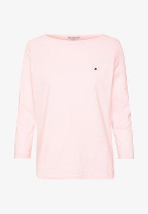 Langærmede T-shirts - pale pink