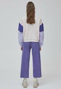 PULL&BEAR - Sweater - purple - 2