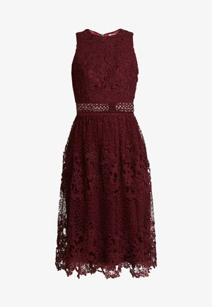 VERSILLA - Vestido de cóctel - burgundy