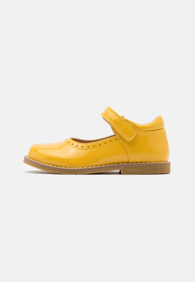 Ballerine con cinturino - yellow