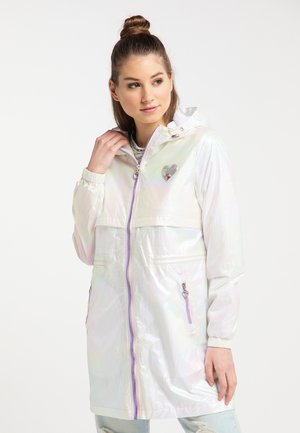 HOLOGRAPHIC - Parka - white