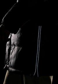 Superdry - STREET LONGLINE PUFFER - Płaszcz zimowy - jet black - 5