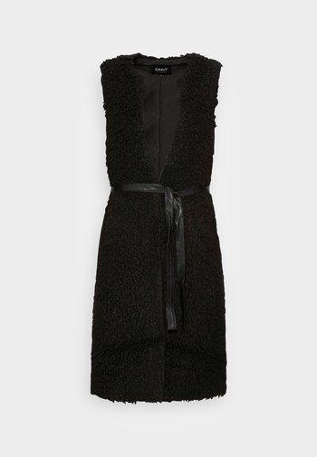 ONLLONE LONG WAISTCOAT - Waistcoat - black