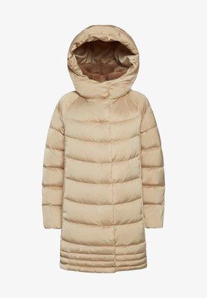 Winter coat - pepper beige f