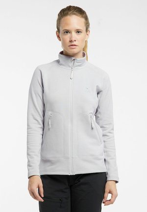 HAGLÖFS FLEECEJACKE HERON JACKET WOMEN - Fleece jacket - stone grey
