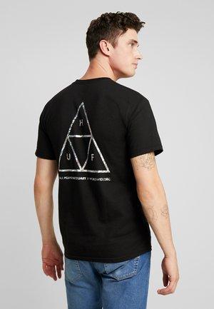 HOLOGRAM TEE - Print T-shirt - black