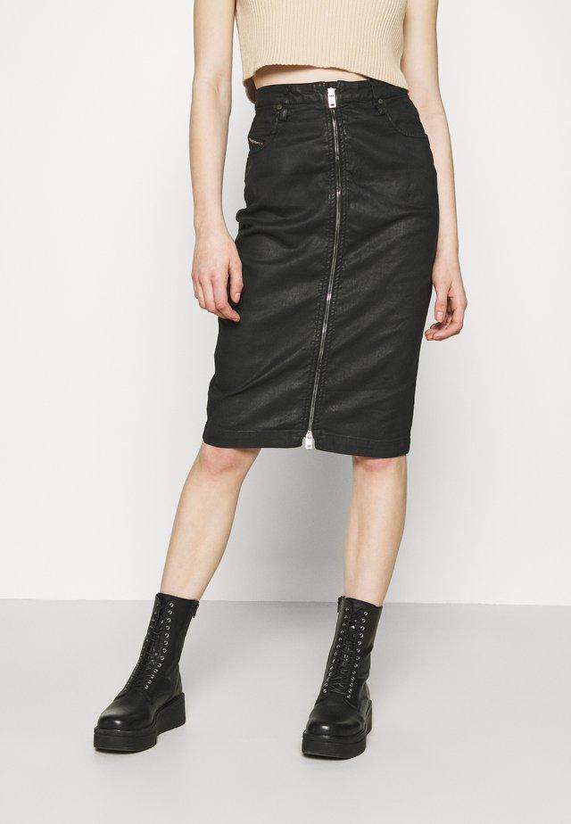 D-ELBEE-NE SKIRT - Pouzdrová sukně - black