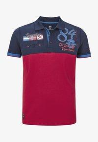 Jan Vanderstorm - Polo shirt - dunkelblau rot - 4