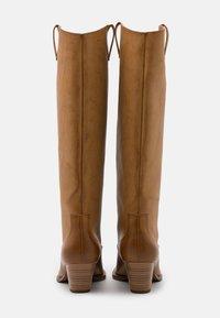 Monki - ROXY BOOT VEGAN - Cowboy/Biker boots - beige - 3