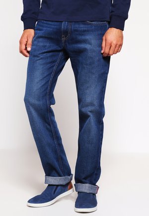 MERCER - Jeans straight leg - midle blue