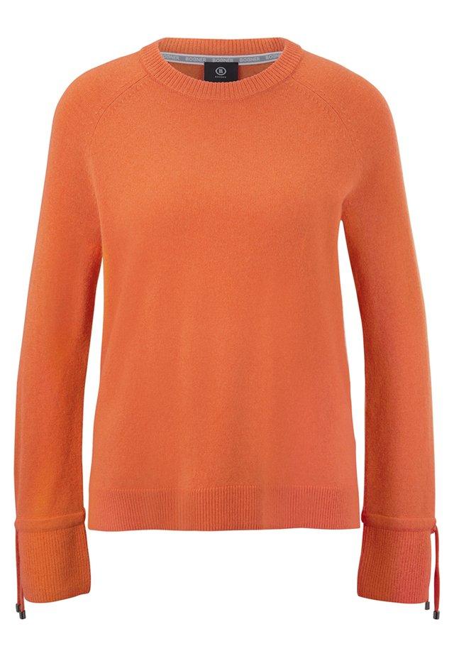 JILLY - Pullover - orange