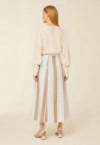 IVY & OAK - A-line skirt - beige - 1