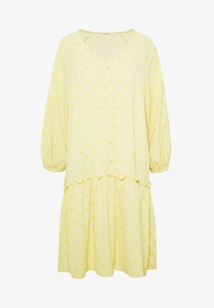 BROLC DRESS - Shirt dress - jojoba yellow