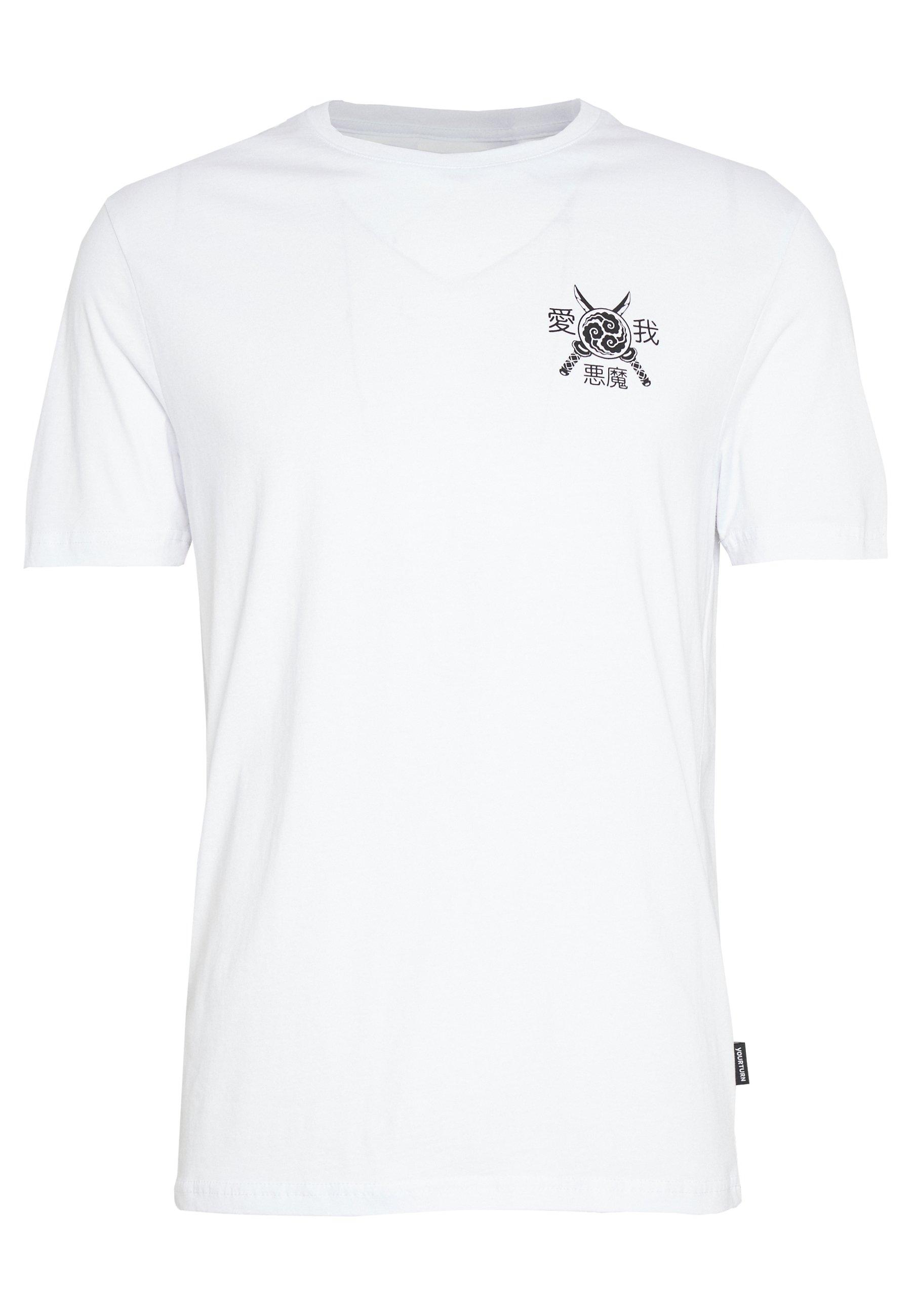 Yourturn T-shirt Print - White