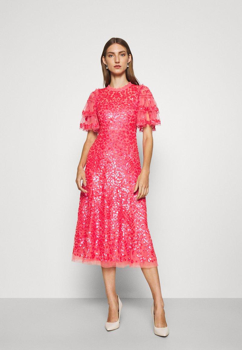 Needle & Thread - SEREN BALLERINA DRESS - Koktejlové šaty/ šaty na párty - watermelon pink