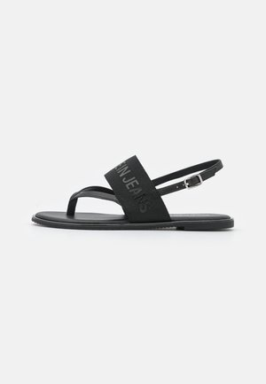 FLAT TOE  - Sandalias de dedo - black