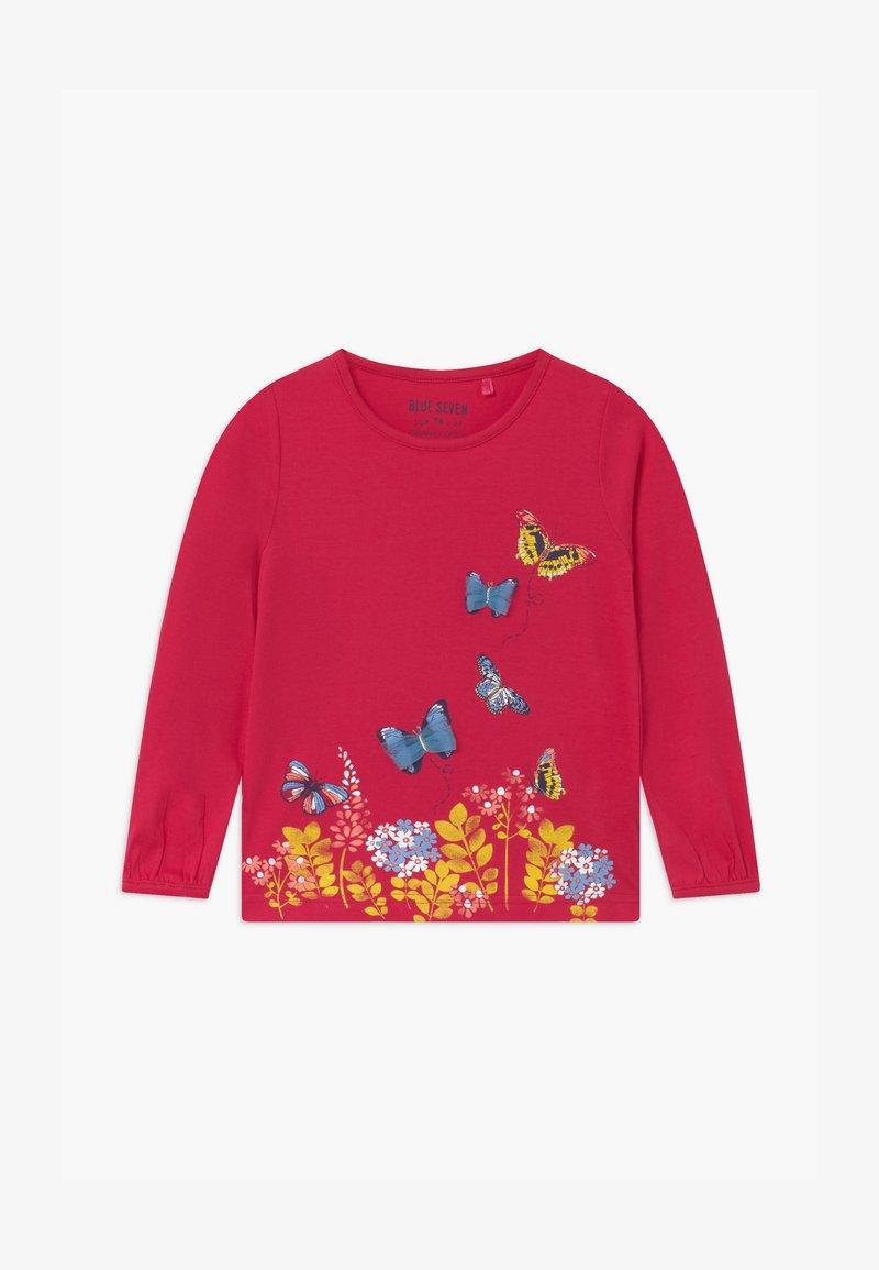 Blue Seven - GIRLS STYLE - Långärmad tröja - red