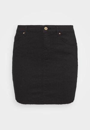 ONLCARMEN MINI SKIRT  - Mini skirt - black