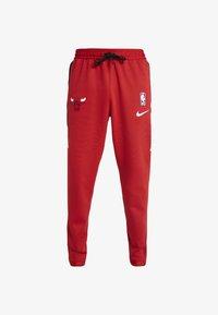 Nike Performance - NBA CHICAGO BULLS THERMAFLEX PANT - Verryttelyhousut - university red/black/white - 4