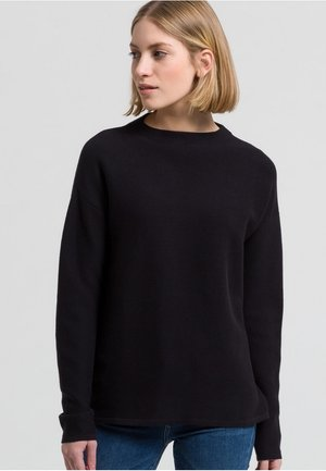 MEDINAA - Strickpullover - black