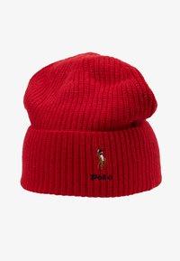 Polo Ralph Lauren - BLEND CARD - Bonnet - red - 3