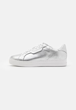 KEATING LACE UP - Trainers - silver