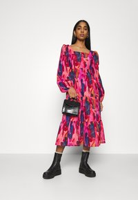 Never Fully Dressed - RAINBOW TILES MIDI DRESS - Day dress - multi - 1