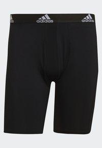 adidas Performance - BRIEF 2 PACK - Pants - black/scarlet - 8