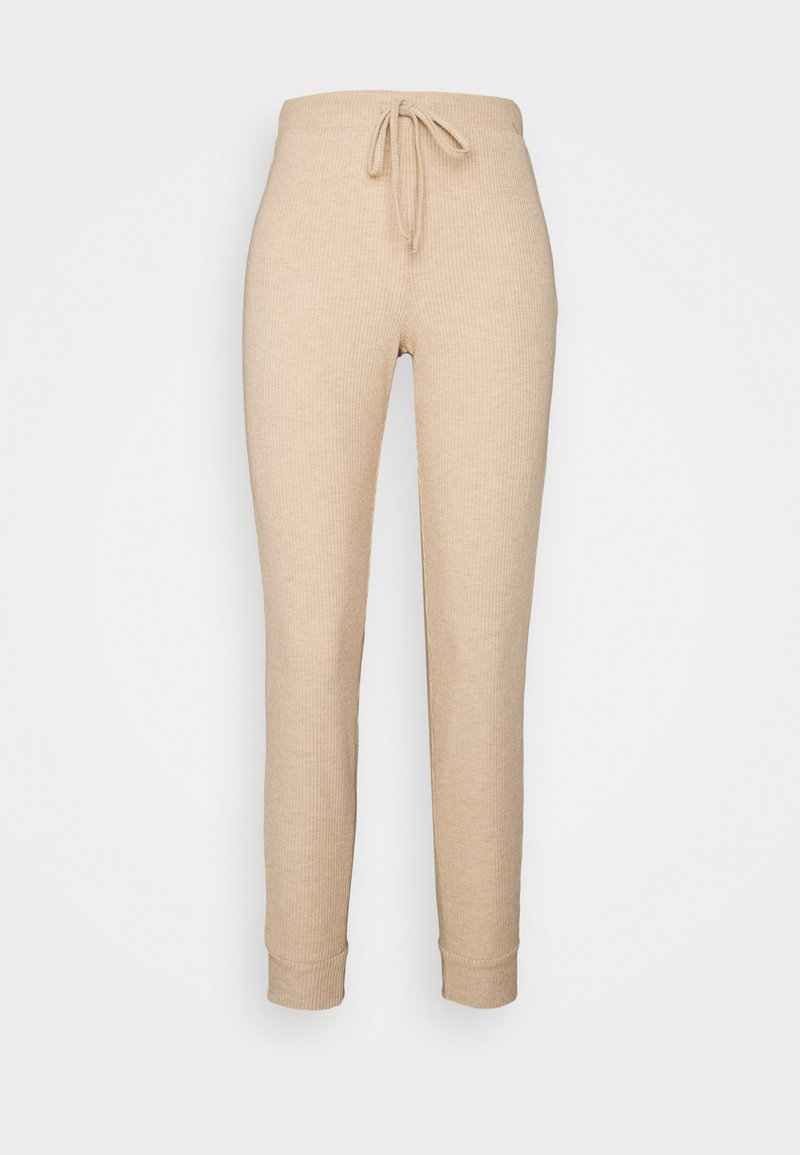 ONLY Petite - ONLZOE LONG PANTS - Tracksuit bottoms - beige