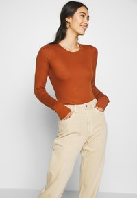 Weekday - LASH - Jeans relaxed fit - light beige - 3