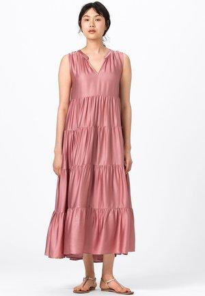 MIT STUFENVOLANTS - Cocktail dress / Party dress - rosenquarz