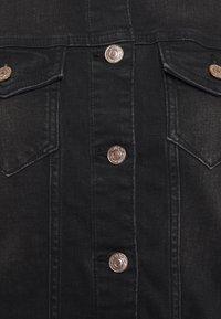 ONLY Tall - ONLTIA LIFE JACKET - Denim jacket - black denim - 2