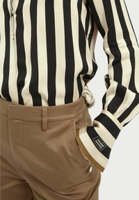Scotch & Soda - Button-down blouse - black/off-white - 3